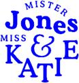 Mister Jones and Miss Katie logo