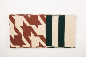 MIX WOOL SCARF - HOUNDSTOOTH logo