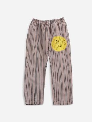 STRIPES WOVEN PANTS logo