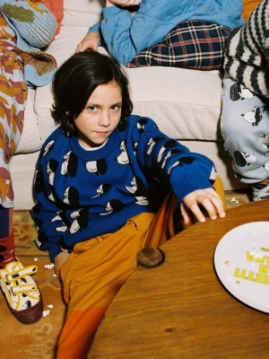 DOGGIE ALL OVER KNITTED JUMPER DOGGIE ALL OVER
