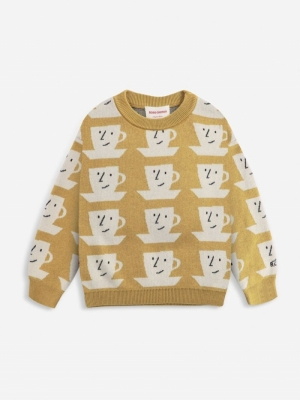 CUP OF TEA ALL OVER KNITTED JU logo